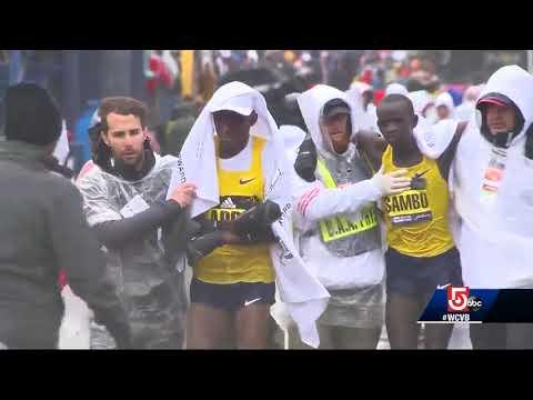 Poor weather creates health concerns for marathon runners