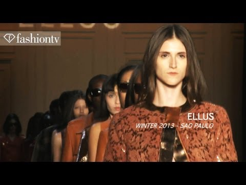 Malu Bortolini - SUBSCRIBE: http://bit.ly/SubscribeFTV http://www.FTV.com/videos SAO PAULO - The Ellus collection by Adriana Bozan for Sao Paulo Fashion Week Fall/Winter 2012...