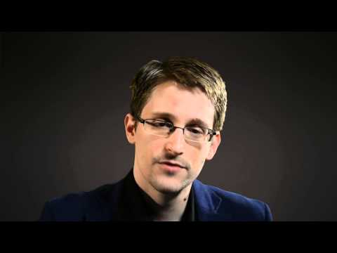 Edward Snowden's reaction to the RLA2014