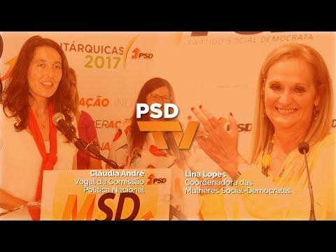 Lina Lopes e Cláudia André sobre o Dia Internacional da Mulher