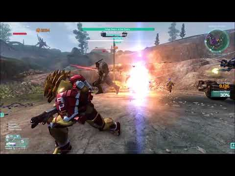 Defiance 2050 Gameplay 8/4/2018, Volge Swarm at the Quarry [Seige], pc