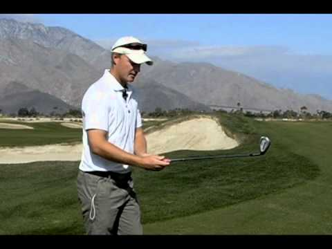 Chipping Set-up 2 from Cahill Golf Palm Springs Golf Schools (2 of 6) (Grip Position, Bracketing)
