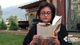 Namita Gokhale at Mountain Echoes 2014