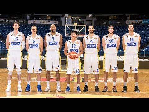 Maccabi FOX Tel Aviv's new white uniform