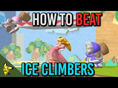 How to BEAT Ice Climbers ft. CDK - Super Smash Bros. Melee