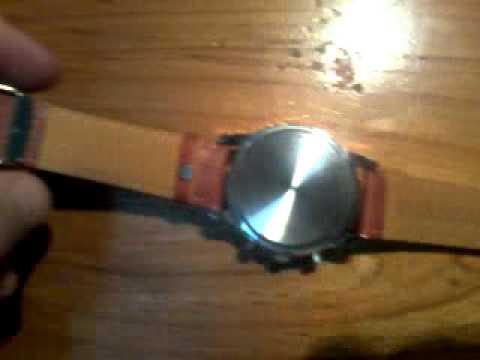 , title : 'Stylish Brown Men's Analogue Quartz Wrist Watch Wristwatch with Leather'