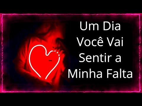 Imagens de reflexão - UM DIA VOCÊ VAI SENTIR MINHA FALTA  REFLEXÃO SOBRE O AMOR