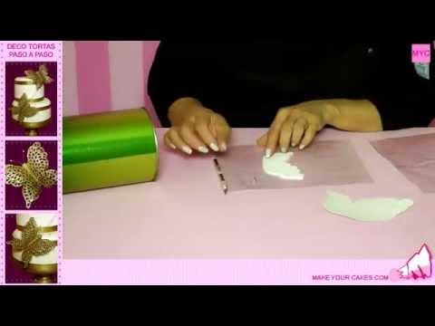 Cómo hacer una Torta de Boda en 10 pasos - Decoración de Tortas, Tartas y Pasteles