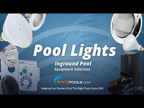 How to Select Inground Pool Lights