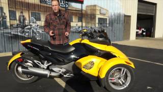 6. 2009 Can-Am Spyder RS