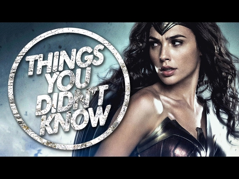 7 Things You Didn t Know About Wonder Woman