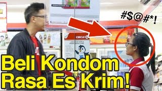 Video Prank Indomaret Alfamart!! Beli Kondom Rasa Ice Cream! MP3, 3GP, MP4, WEBM, AVI, FLV Juni 2017