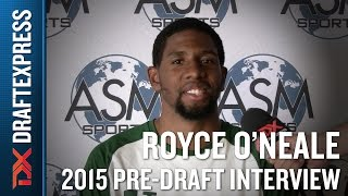 Royce O'Neale 2015 ASM Pro Day Interview - DraftExpress