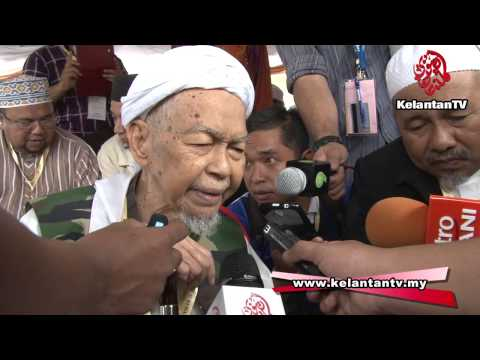 PRK N.01 Pengkalan Kubor - Insya Allah, calon kita akan dipilih rakyat - TG Nik Aziz