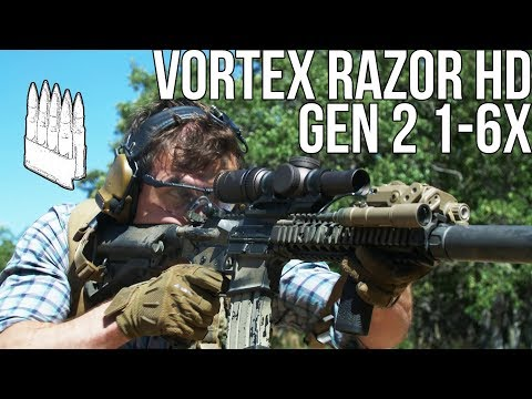 Vortex Razor Hd Gen Ii 1-6x Optic