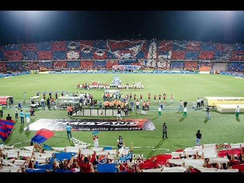 DIM vs águilas Salida Monumental, MegaTifo - Rexixtenxia Norte - Independiente Medellín