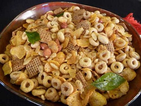 Healthy Cereal Chivda