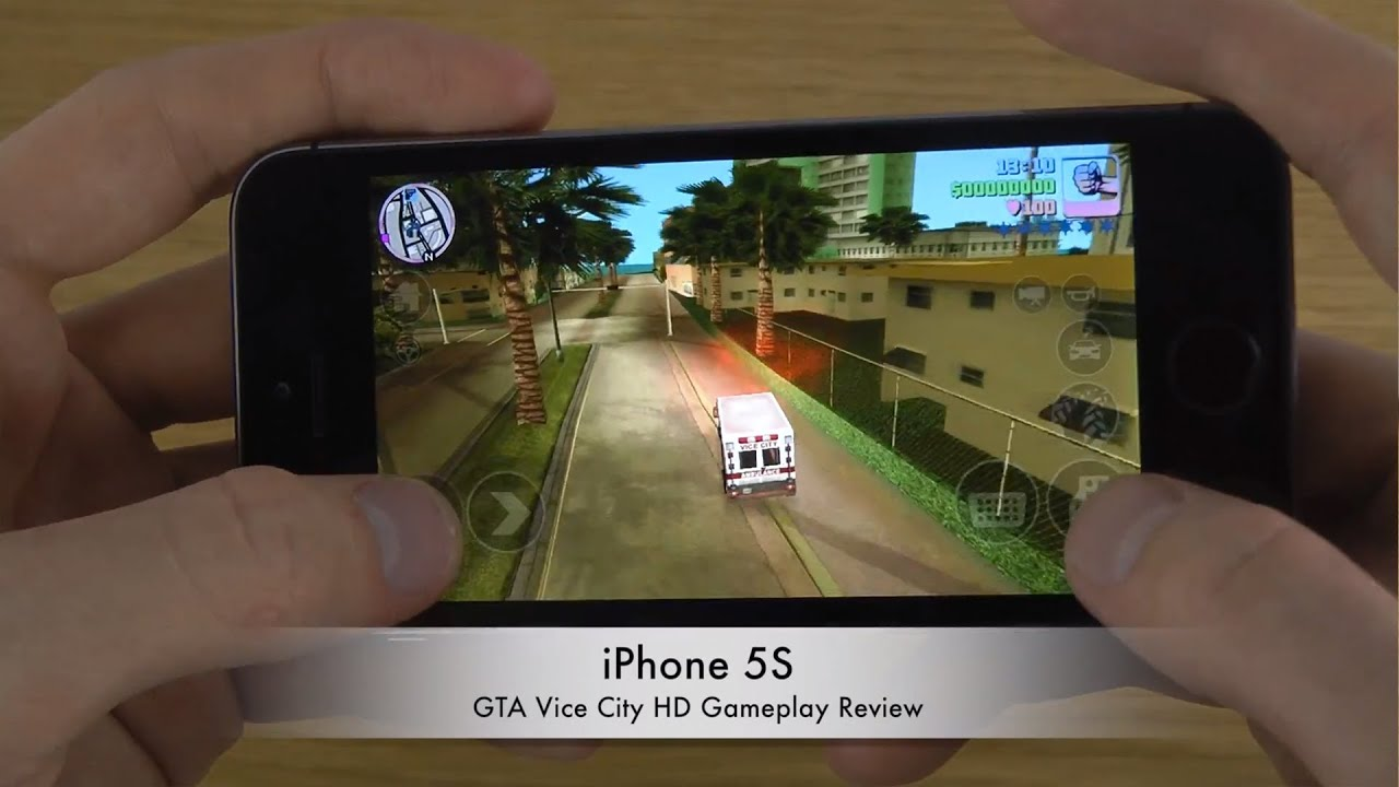 GTA Vice City iPhone 5S HD Gameplay Review