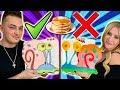 PANCAKE ART CHALLENGE! BOYFRIEND VS GIRLFRIEND