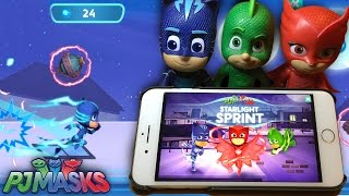 Here's a look at how to get a high score on the New PJ Masks Starlight Sprint game on the iPad, Android and Amazon tablets.In these PJ Masks Episodes we check out Owlette, Gekko and Catboy's special moves as well as which of them can fly, double-jump and wall climb.
