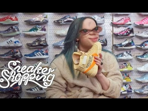 Billie Eilish Goes Sneaker Shopping but its EPIC