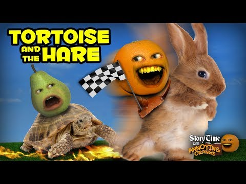 Video Annoying Orange - Storytime #10: The Tortoise and the Hare download in MP3, 3GP, MP4, WEBM, AVI, FLV January 2017