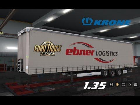 Krone Megaliner Skin Pack v1.8 by TheNuvolari