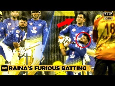 Raina's Massive Shots in Chennai - Thala Dhoni gets Impressed!   CSK   IPL 2019