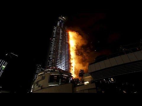 Ντουμπάι: Μεγάλη φωτιά σε πολυόροφο ξενοδοχείο