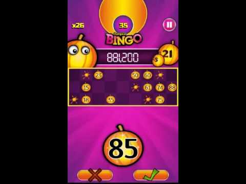 Video of Pumpkin Bingo: FREE BINGO GAME