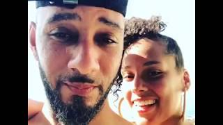 Alicia Keys Giving Much Love To Swizz Beatz On Vacation !