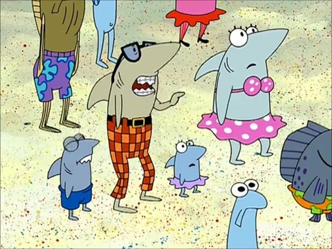 Bob Esponja - ¡Hay tiburones!