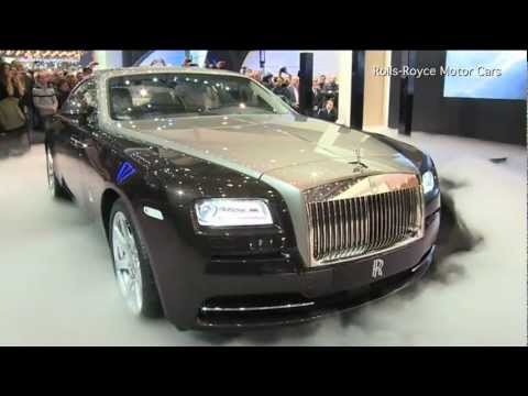 Rolls-Royce Reveals the Wraith
