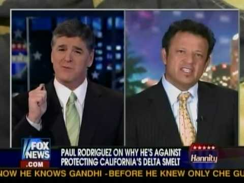 Fish or families?  Comedian Paul Rodriguez on Hannity