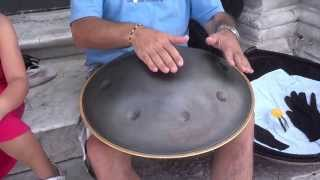 Video Hangdrum Integral in Pisa