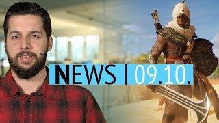 Assassin's Creed Origins mit Lootboxen - Echte Leiche in Telltale Batman - News