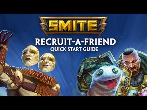 SMITE Recruit-A-Friend - Play with Friends, Get Rewarded!