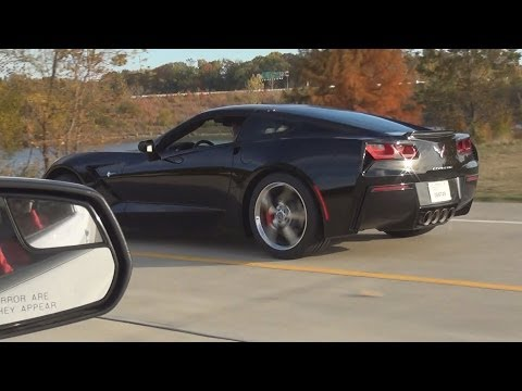 2014 Corvette Stingray Z51 vs. 2014 Ford Mustang GT500