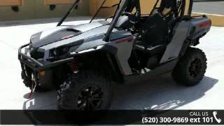 8. 2015 Can-Am Commander XT 1000 Brushed Aluminum  - RideNow...