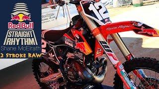 10. Shane McElrath KTM 250SX 2 Stroke RAW - Dirt Bike Magazine