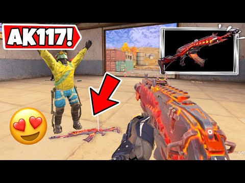 I GIFTED MY SUBSCRIBER MY AK117 MELTDOWN! CALL OF DUTY MOBILE BATTLE ROYALE