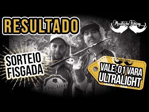 RESULTADO DO SORTEIO MOUSTACHE FISHING