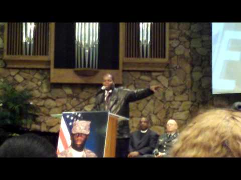 AJ Jamal/ Memorial Service Of Pfc Marcus Tynes