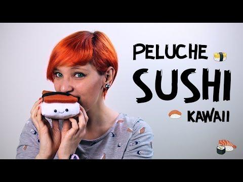 Cómo hacer peluches de Sushi Kawaii