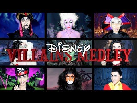 Oone Woman Disney Villains Medley!