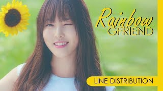 Video GFRIEND - RAINBOW | Line Distribution MP3, 3GP, MP4, WEBM, AVI, FLV September 2017