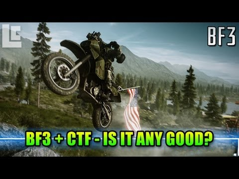 Is Capture The Flag Any Good in Battlefield? (Battlefield 3 End Game Gameplay/Commentary)