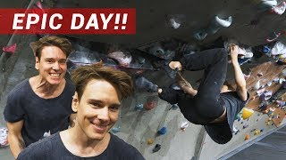 CRAZY! Best Climbing Session In 3 YEARS - Eric Vs His Projects by Eric Karlsson Bouldering