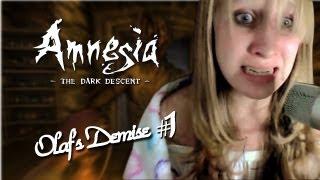 PlayerBarbie - Amnesia CS: Olaf's Demise - Eu Não Vou Olhar Para Trás! - #1