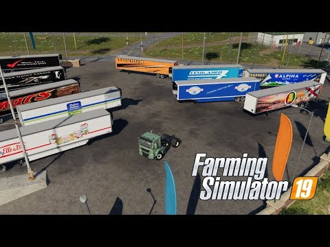 Refrigerated industrial trailer PACK v1.5
